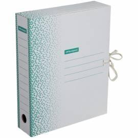 """Папка архивная из микрогофрокартона OfficeSpace """"Standard"""" плотная,с завязками,75мм,зеленая, 700л"""