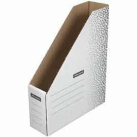 """Накопитель-лоток архивный из микрогофрокартона OfficeSpace """"Standard"""" плотный,75мм, белый, до 700л."""