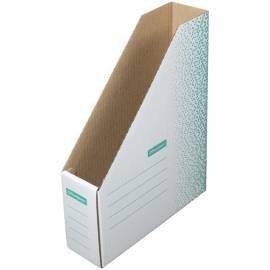 """Накопитель-лоток архивный из микрогофрокартона OfficeSpace """"Standard"""" плотный,75мм, зеленый, до 700л"""