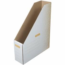 """Накопитель-лоток архивный из микрогофрокартона OfficeSpace """"Standard"""" плотный,75мм,оранжевый,до 700л"""