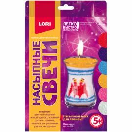 """Воск насыпной для свечей Lori """"Магия цвета"""""""