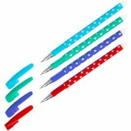 Ручка гелевая стираемая ArtSpace, синяя, 0,5мм, корпус ассорти