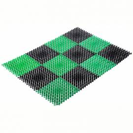 """Коврик Vortex """"Травка"""", 42*56 см, черно-зеленый"""
