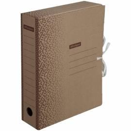 """Папка архивная из микрогофрокартона OfficeSpace """"Standard"""" плотная,с завязками, 75мм, бурый, до 700л"""