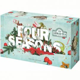"""Подарочный набор чая Ahmad Tea """"Чайное Ассорти"""", 15 вкусов, 90 фольг. пак., карт. коробка (зимний)"""