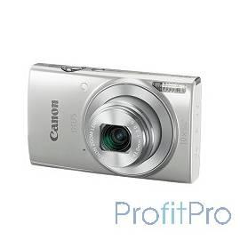 """Canon IXUS 190 серебристый 20Mpix Zoom10x 2.7"""" 720p SDXC CCD 1x2.3 IS opt 1minF 0.8fr/s 25fr/s/WiFi/NB-11LH"""