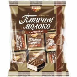 """Шоколадные конфеты РотФронт """"Птичье молоко"""", 225г, пакет"""
