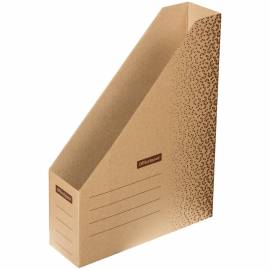 """Накопитель-лоток архивный из микрогофрокартона OfficeSpace """"Standard"""" плотный, 75мм, бурый,до 1400л"""