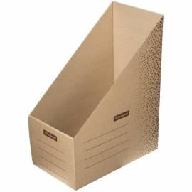 """Накопитель-лоток архивный из микрогофрокартона OfficeSpace """"Standard"""" плотный, 150мм, бурый,до 1400л"""