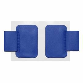 Держатель-петля для ручки самоклеящийся (комплект 2шт.) ДПС, синий