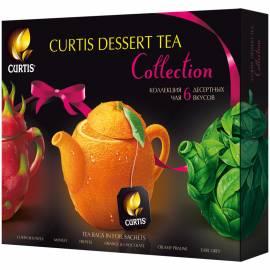"""Чай Curtis """"Dessert Tea Collection"""", 30 пакетиков, ассорти (6 вкусов), 58,5г"""