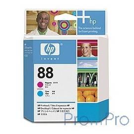 HP C9382A Печатающая головка №88, Cyan & Magenta OfficeJet Pro K550, Cyan & Magenta