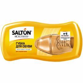 Губка для обуви Salton, волна, для гладкой кожи, бесцветная