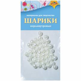 "Материал декоративный Апплика ""Шарики"", перламутр"