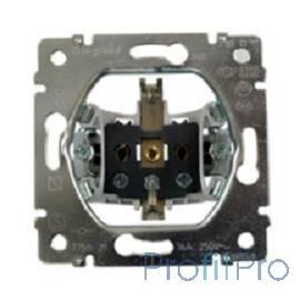 Legrand 775921 Розетка электрическая Galea Life с заземлением 16A без лицевой панели (винтовые клеммы)