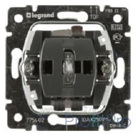 Legrand 775602 Переключатель Galea Life одноклавишный с подсветкой