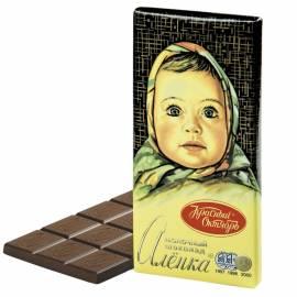 "Шоколад Красный Октябрь ""Аленка"", молочный, 100г"
