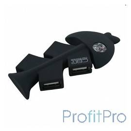 CBR CH-145 USB-концентратор , 4 порта, USB 2.0, софттач, ноут., сувенир.