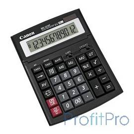 Калькулятор бухгалтерский Canon WS-1210T черный 12-разр.