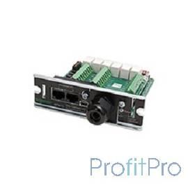 APC AP9613 Плата управления APC Dry Contact l/0 SmartSlot Card