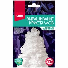 """Набор для выращивания кристаллов Lori """"Деревья. Белая ёлочка"""", от 10-ти лет"""