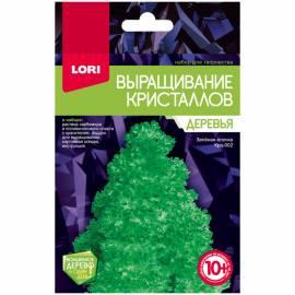 """Набор для выращивания кристаллов Lori """"Деревья. Зеленая ёлочка"""", от 10-ти лет"""