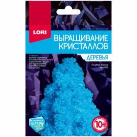 """Набор для выращивания кристаллов Lori """"Деревья. Голубая ёлочка"""", от 10-ти лет"""