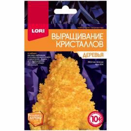 """Набор для выращивания кристаллов Lori """"Деревья. Желтая ёлочка"""", от 10-ти лет"""