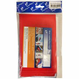 Флаг РФ 90*135см, пакет с европодвесом
