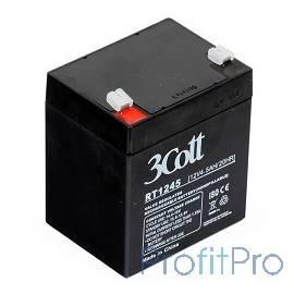 3Cott Аккумулятор 12V4.5Ah 0117637