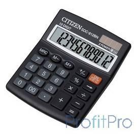 Citizen SDC-812BN черный Калькулятор 12-разрядный