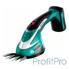 Bosch AGS 7,2 LI [0600856000] Ножницы для травы 7.2 В, 1.3 Ач, нож 8 см, 0.75 кг