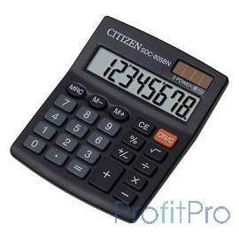 Citizen SDC-805BN черный, Калькулятор 8-разрядный