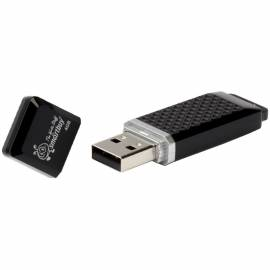 "Память Smart Buy ""Quartz"" 4GB, USB 2.0 Flash Drive, черный"