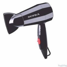 Фен Supra PHS-1604M, 1600Вт, черный