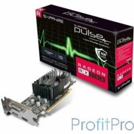 Sapphire RX 550 PULSE [11268-09-20G] RX 550 4G PULSE AMD Radeon RX 550 4096Mb 128bit GDDR5 1206/6000 DVIx1/HDMIx1/DPx1/HDCP