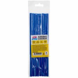 Клеевые стержни ArtSpace, диаметр 7мм, длина 200мм, синие, набор 8шт., европодвес