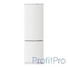 Атлант Холодильник XM-6021-031 60x63x186 см, 345 л, капельная система разморозки, двухкамерный, морозильная камера снизу, белый