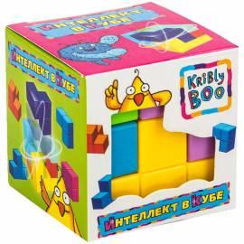 "Игра-головоломка Kribly Boo ""Интеллект в кубе"", пластик, 7 эл., от 6-ти лет, ассорти, картон.коробка"