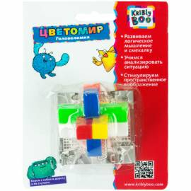 """Игра-головоломка Kribly Boo """"Цветомир. Сфера"""", пластик, от 3-х лет, блистер"""