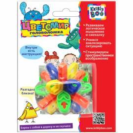 """Игра-головоломка Kribly Boo """"Цветомир. Узелки"""", пластик, от 3-х лет, блистер"""