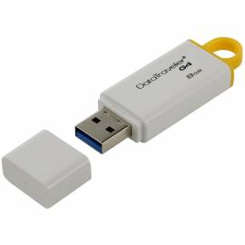 "Память Kingston ""DTIG4"" 8GB, USB 3.0 Flash Drive, белый"