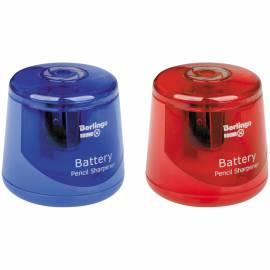 """Точилка электрическая Berlingo """"RoundX"""", круглая, 1 отверстие, с контейнером, ПВХ-коробка,европодвес"""