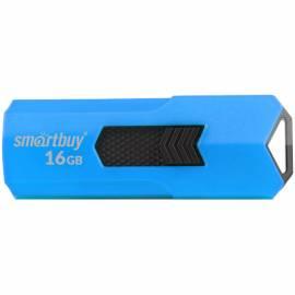 "Память Smart Buy ""Stream"" 16GB, USB 2.0 Flash Drive, синий"
