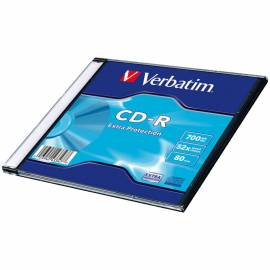 Диск CD-R 700Mb Verbatim 52x Slim