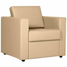 """Кресло для отдыха Chairman """"Симпл"""", обивка Экотекс 3015 светлый беж (ПОД ЗАКАЗ)"""