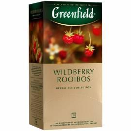 "Чай Greenfield ""Wildberry Rooibos"", 25 фольг. пакетиков по 1,5г"