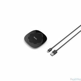 Hama QI-FC 5 Беспроводное зарядное устройство 1.0A универсальное кабель microUSB черный (00178975)