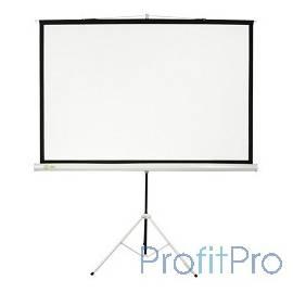 Экран Cactus Triscreen CS-PST-104x186 104.4 x 186см 1:1 напольный рулонный белый