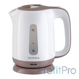Чайники SUPRA KES-1724 white/beige, 1.7 л., 2200Вт